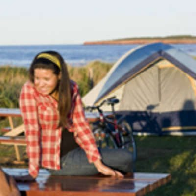 Cavendish Campground, Prince Edward Island National Park