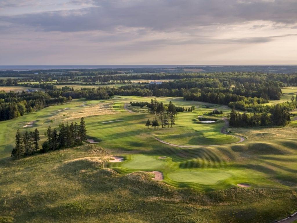 Golf in Cavendish
